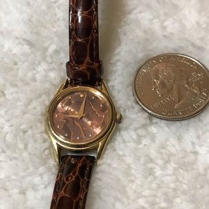 So pretty brown watch by seiko